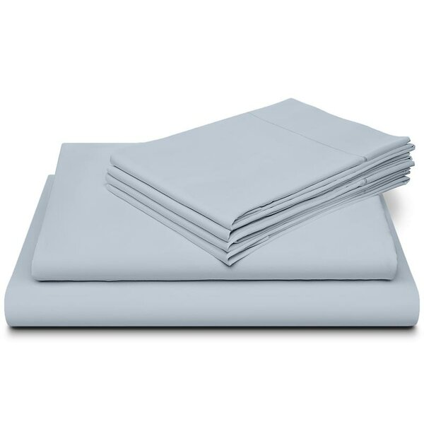 Morabito Hotel Luxury Marrow Hem 800 Thread Count 100% Cotton Sheet Set by Latitude Run